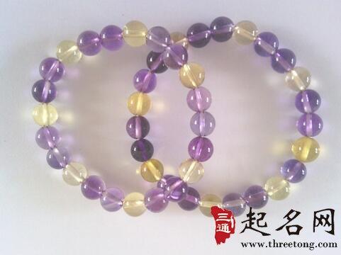 紫黄晶的功效与作用_紫黄水晶适合什么人戴_起名网