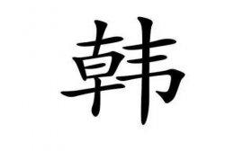 姓韩的名人有哪些,韩姓的由来